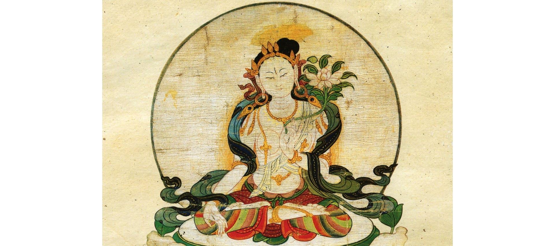 """Featured image for """"Das siebengliedrige Gebet zu Ehren des weiblichen Bodhisattvas Tara"""""""